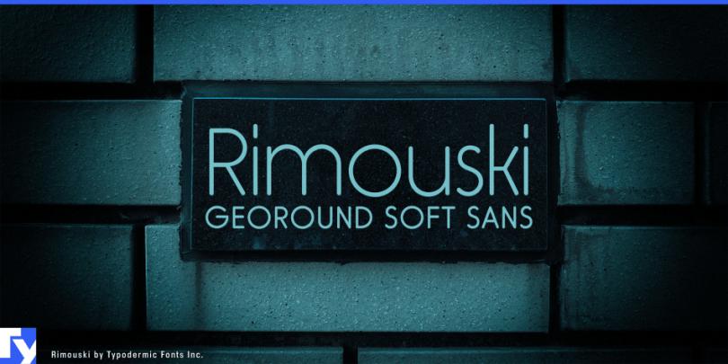 Rimouski [5 Fonts]   The Fonts Master
