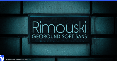 Rimouski [5 Fonts] | The Fonts Master