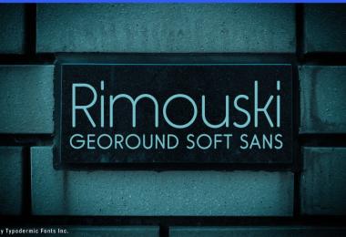 Rimouski [5 Fonts] | The Fonts Master