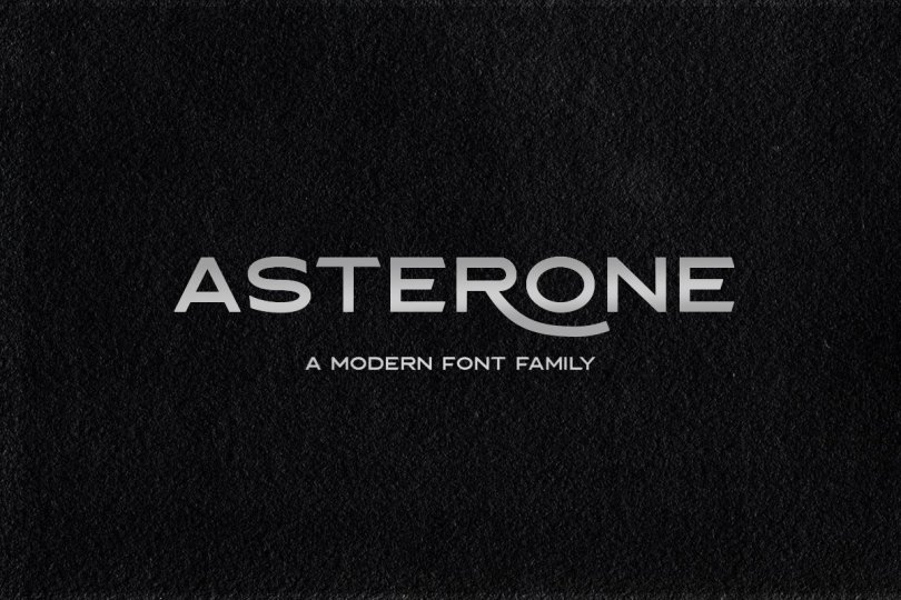 Asterone [4 Fonts] | The Fonts Master