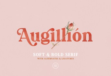 Augillion [1 Font] | The Fonts Master