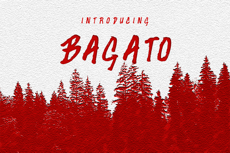 Bagato [1 Font] | The Fonts Master