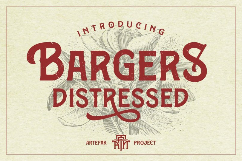 Bargers Distressed [1 Font] | The Fonts Master