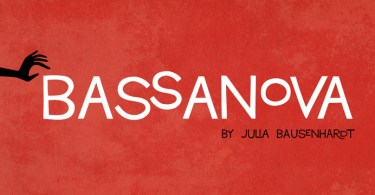 Bassanova [1 Font] | The Fonts Master
