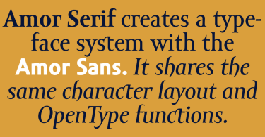 Amor Serif Super Family [8 Fonts] | The Fonts Master