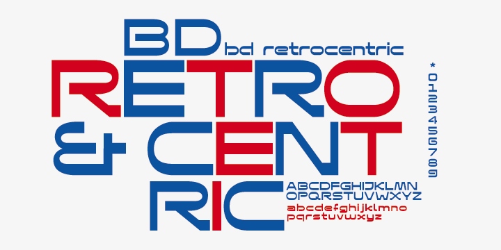 Bd Retrocentric [1 Font]   The Fonts Master