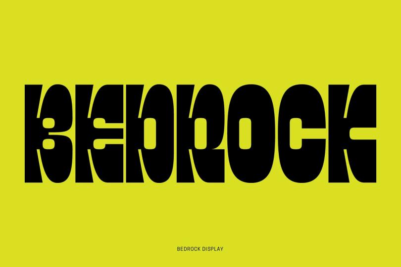 Bedrock Display [1 Font] | The Fonts Master