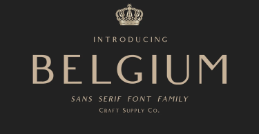 Belgium [2 Fonts] | The Fonts Master