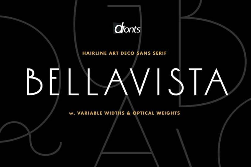Bellavista Condensed [5 Fonts] | The Fonts Master