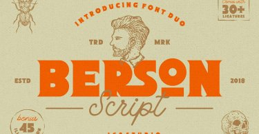 Berson [3 Fonts] | The Fonts Master