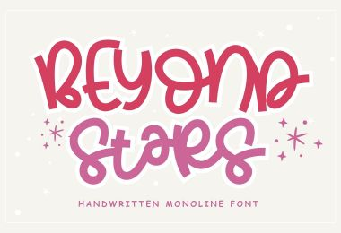Beyond Stars [1 Font] | The Fonts Master