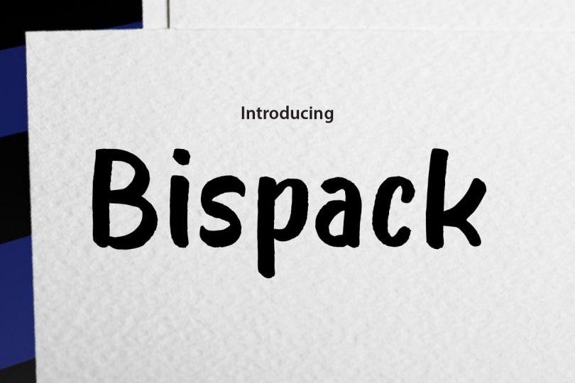 Bispack [1 Font] | The Fonts Master