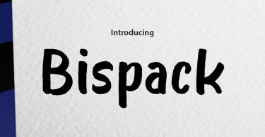 Bispack [1 Font] | The Fonts Master