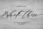 Black Thise [1 Font] | The Fonts Master