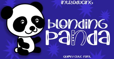 Blonding Panda [1 Font] | The Fonts Master