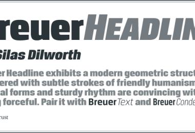 Breuer Headline [2 Fonts] | The Fonts Master