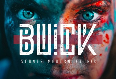 Buick [3 Fonts] | The Fonts Master