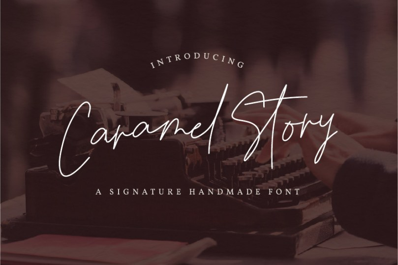 Caramel Story [1 Font] | The Fonts Master