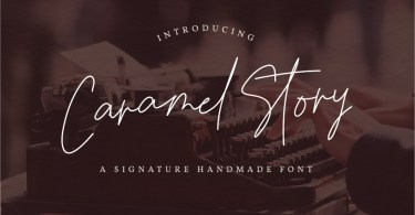 Caramel Story [1 Font] | The Fonts Master