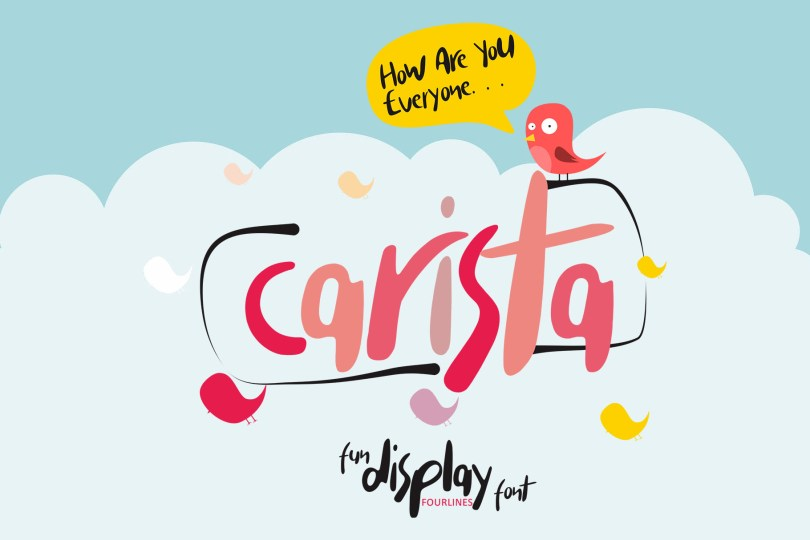 Carista [1 Font] | The Fonts Master
