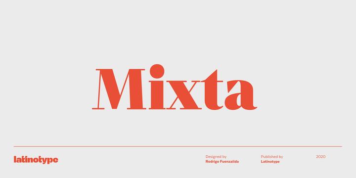 Mixta Super Family [54 Fonts] | The Fonts Master
