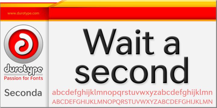 Seconda Super Family [16 Fonts] | The Fonts Master