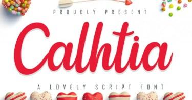 Calhtia [1 Font] | The Fonts Master