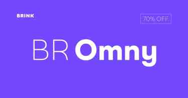 Br Omny Super Family [14 Fonts] | The Fonts Master