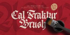 Cal Fraktur Brush