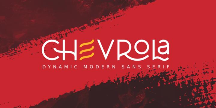Al Chevrola [4 Fonts] | The Fonts Master