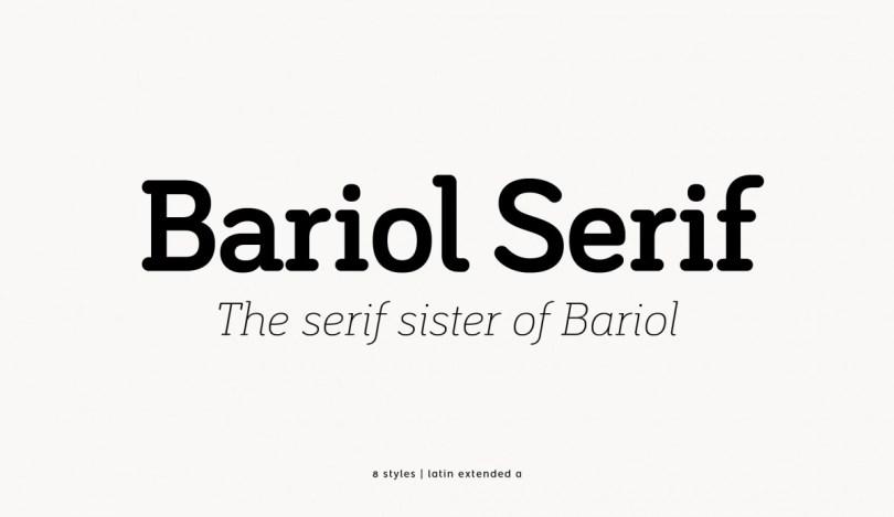 Bariol Serif [8 Fonts] | The Fonts Master