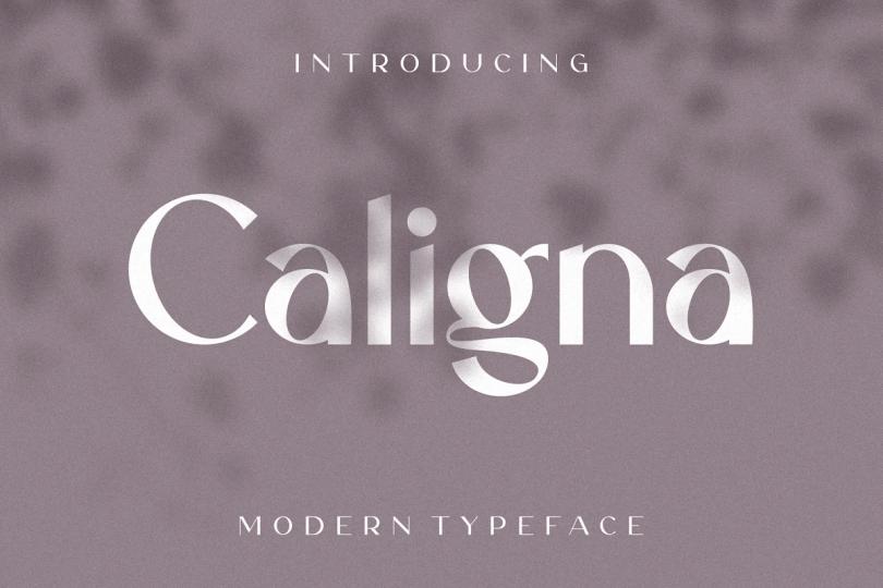 Caligna [1 Font] | The Fonts Master