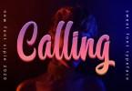 Calling [1 Font] | The Fonts Master
