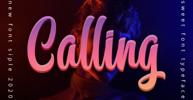 Calling [1 Font] | The Fonts Master
