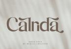 Calrida [1 Font] | The Fonts Master