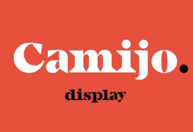 Camijo Display [1 Font]   The Fonts Master