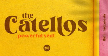 Catellos [4 Fonts] | The Fonts Master
