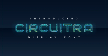 Circuitra [1 Font] | The Fonts Master