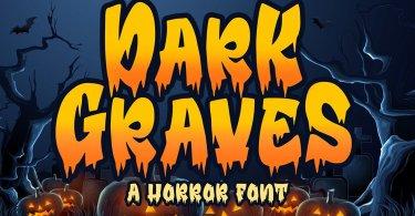 Dark Graves [1 Font]   The Fonts Master