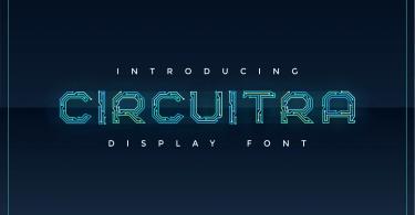 Circuitra [1 Font] | The Fonts Master