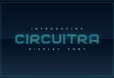 Circuitra [1 Font]   The Fonts Master