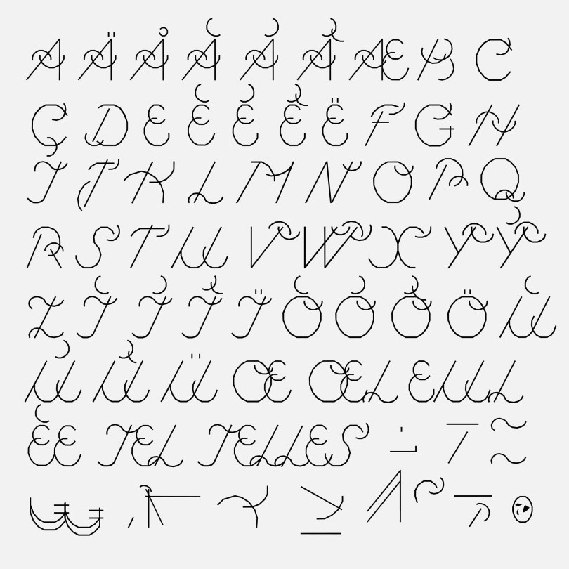 Cirrus Cumulus [1 Font]   The Fonts Master