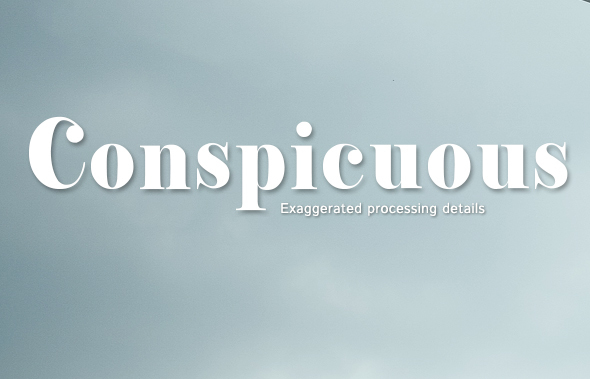 Conspicuous [1 Font]   The Fonts Master