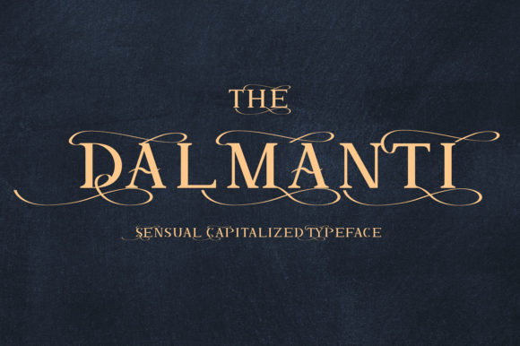 Dalmanti [1 Fonts] | The Fonts Master