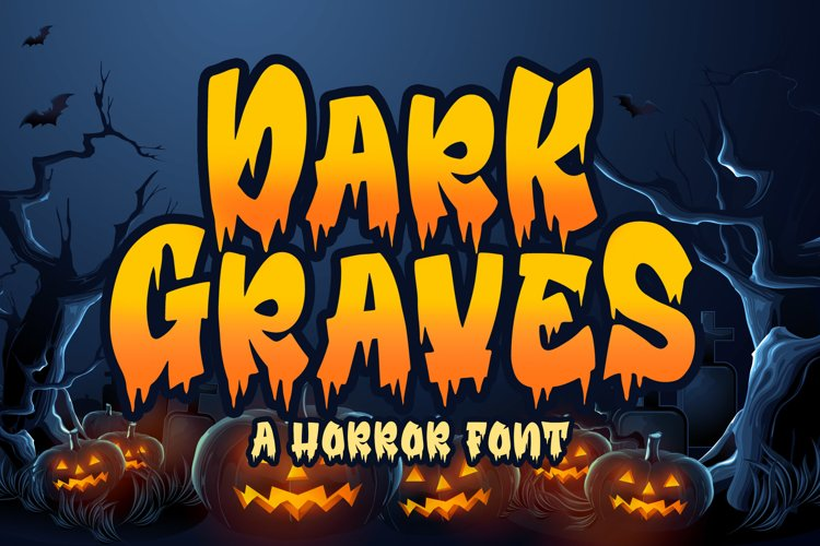 Dark Graves [1 Font] | The Fonts Master