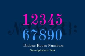Didone Room Numbers
