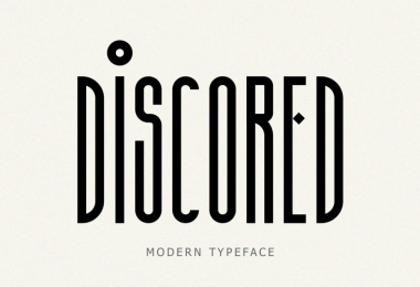 Discored [1 Font] | The Fonts Master