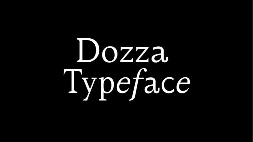 Dozza Super Family [4 Fonts] | The Fonts Master