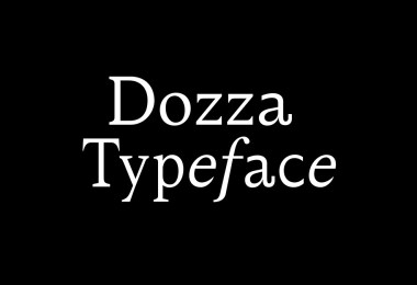 Dozza Super Family [4 Fonts]   The Fonts Master
