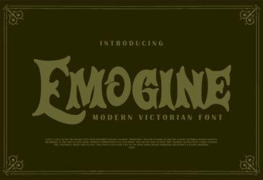 Emogine [1 Font] | The Fonts Master